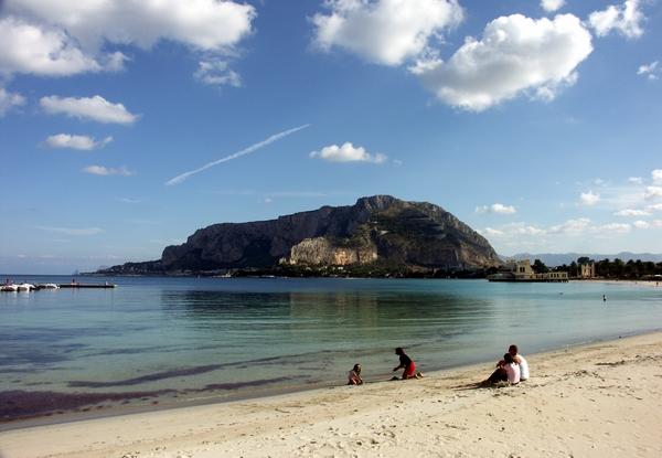 Mondello пляж
